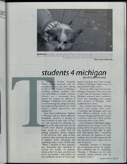 Page 249, 2007 Edition, University of Michigan - Michiganensian Yearbook (Ann Arbor, MI) online yearbook collection