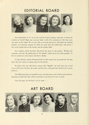 Page 10, 1949 Edition, Lowell High School - Spindle Yearbook (Lowell, MA) online yearbook collection