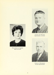 Page 10, 1965 Edition, Lowell High School - Spindle Yearbook (Lowell, MA) online yearbook collection