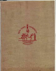 1934 Edition, NYU Washington Square College - Album Yearbook (New York, NY)