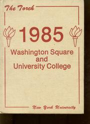 1985 Edition, NYU Washington Square College - Album Yearbook (New York, NY)