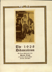 Page 9, 1928 Edition, Suny Cortland - Didascaleion Yearbook (Cortland, NY) online yearbook collection