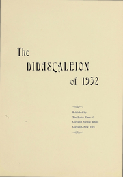 Page 7, 1932 Edition, Suny Cortland - Didascaleion Yearbook (Cortland, NY) online yearbook collection