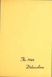 Page 3, 1946 Edition, Suny Cortland - Didascaleion Yearbook (Cortland, NY) online yearbook collection