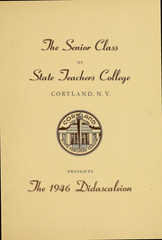 Page 5, 1946 Edition, Suny Cortland - Didascaleion Yearbook (Cortland, NY) online yearbook collection