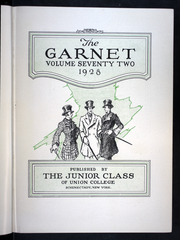 Page 7, 1928 Edition, Union College - Garnet Yearbook (Schenectady, NY) online yearbook collection