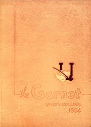 Union College - Garnet Yearbook (Schenectady, NY) online yearbook collection, 1954 Edition, Page 1
