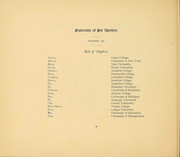 Page 16, 1894 Edition, Columbia University - Columbian Yearbook (New York, NY) online yearbook collection