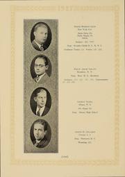 Page 108, 1927 Edition, Columbia University - Columbian Yearbook (New York, NY) online yearbook collection
