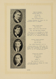 Page 110, 1927 Edition, Columbia University - Columbian Yearbook (New York, NY) online yearbook collection