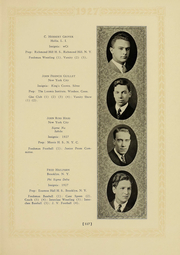 Page 111, 1927 Edition, Columbia University - Columbian Yearbook (New York, NY) online yearbook collection