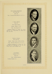 Page 113, 1927 Edition, Columbia University - Columbian Yearbook (New York, NY) online yearbook collection