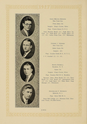 Page 116, 1927 Edition, Columbia University - Columbian Yearbook (New York, NY) online yearbook collection