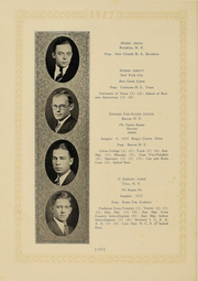 Page 118, 1927 Edition, Columbia University - Columbian Yearbook (New York, NY) online yearbook collection