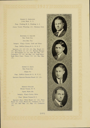 Page 119, 1927 Edition, Columbia University - Columbian Yearbook (New York, NY) online yearbook collection
