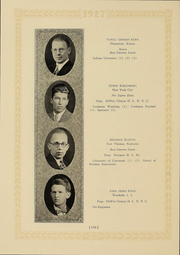 Page 120, 1927 Edition, Columbia University - Columbian Yearbook (New York, NY) online yearbook collection
