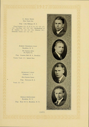 Page 121, 1927 Edition, Columbia University - Columbian Yearbook (New York, NY) online yearbook collection