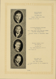 Page 122, 1927 Edition, Columbia University - Columbian Yearbook (New York, NY) online yearbook collection