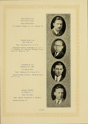 Page 123, 1927 Edition, Columbia University - Columbian Yearbook (New York, NY) online yearbook collection