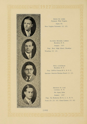 Page 124, 1927 Edition, Columbia University - Columbian Yearbook (New York, NY) online yearbook collection