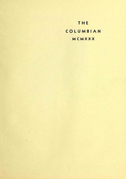Page 5, 1930 Edition, Columbia University - Columbian Yearbook (New York, NY) online yearbook collection