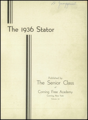Page 3, 1936 Edition, Corning Free Academy - Stator Yearbook (Corning, NY) online yearbook collection