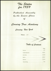Page 5, 1959 Edition, Corning Free Academy - Stator Yearbook (Corning, NY) online yearbook collection