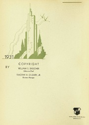 Page 6, 1931 Edition, Fordham University - Aries Yearbook (New York, NY) online yearbook collection