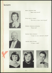 Page 14, 1957 Edition, Jasper Central School - Golden Glimpses Yearbook (Jasper, NY) online yearbook collection
