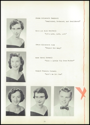 Page 15, 1957 Edition, Jasper Central School - Golden Glimpses Yearbook (Jasper, NY) online yearbook collection