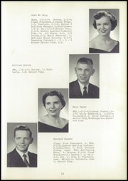 Page 17, 1958 Edition, Jasper Central School - Golden Glimpses Yearbook (Jasper, NY) online yearbook collection