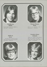 Page 15, 1978 Edition, Jasper Central School - Golden Glimpses Yearbook (Jasper, NY) online yearbook collection