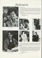 Page 6, 1982 Edition, Jasper Central School - Golden Glimpses Yearbook (Jasper, NY) online yearbook collection