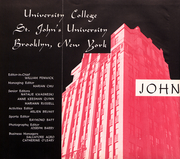 Page 7, 1955 Edition, St Johns University - Yearbook (Queens, NY) online yearbook collection