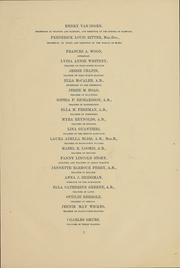 Page 10, 1891 Edition, Vassar College - Vassarion Yearbook (Poughkeepsie, NY) online yearbook collection