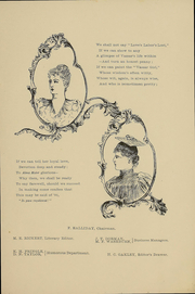 Page 15, 1891 Edition, Vassar College - Vassarion Yearbook (Poughkeepsie, NY) online yearbook collection