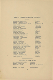 Page 7, 1891 Edition, Vassar College - Vassarion Yearbook (Poughkeepsie, NY) online yearbook collection