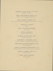 Page 16, 1896 Edition, Vassar College - Vassarion Yearbook (Poughkeepsie, NY) online yearbook collection