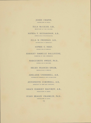 Page 17, 1896 Edition, Vassar College - Vassarion Yearbook (Poughkeepsie, NY) online yearbook collection