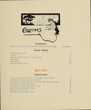 Page 17, 1908 Edition, Vassar College - Vassarion Yearbook (Poughkeepsie, NY) online yearbook collection