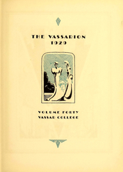 Page 6, 1929 Edition, Vassar College - Vassarion Yearbook (Poughkeepsie, NY) online yearbook collection