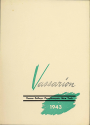 Page 4, 1943 Edition, Vassar College - Vassarion Yearbook (Poughkeepsie, NY) online yearbook collection