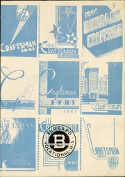 Page 3, 1953 Edition, Burgard Vocational High School - Craftsman Yearbook (Buffalo, NY) online yearbook collection