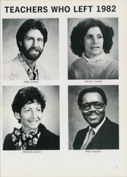 Page 11, 1982 Edition, Burgard Vocational High School - Craftsman Yearbook (Buffalo, NY) online yearbook collection