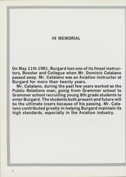 Page 6, 1982 Edition, Burgard Vocational High School - Craftsman Yearbook (Buffalo, NY) online yearbook collection