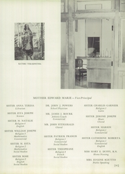 Page 15, 1949 Edition, Cathedral Academy - Way Yearbook (Albany, NY) online yearbook collection