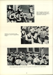 Page 64, 1957 Edition, Cathedral Academy - Way Yearbook (Albany, NY) online yearbook collection