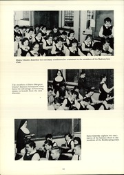 Page 68, 1957 Edition, Cathedral Academy - Way Yearbook (Albany, NY) online yearbook collection