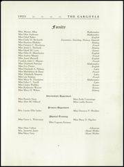 Page 13, 1923 Edition, Emma Willard School - Gargoyle Yearbook (Troy, NY) online yearbook collection