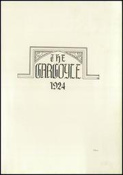 Page 7, 1924 Edition, Emma Willard School - Gargoyle Yearbook (Troy, NY) online yearbook collection
